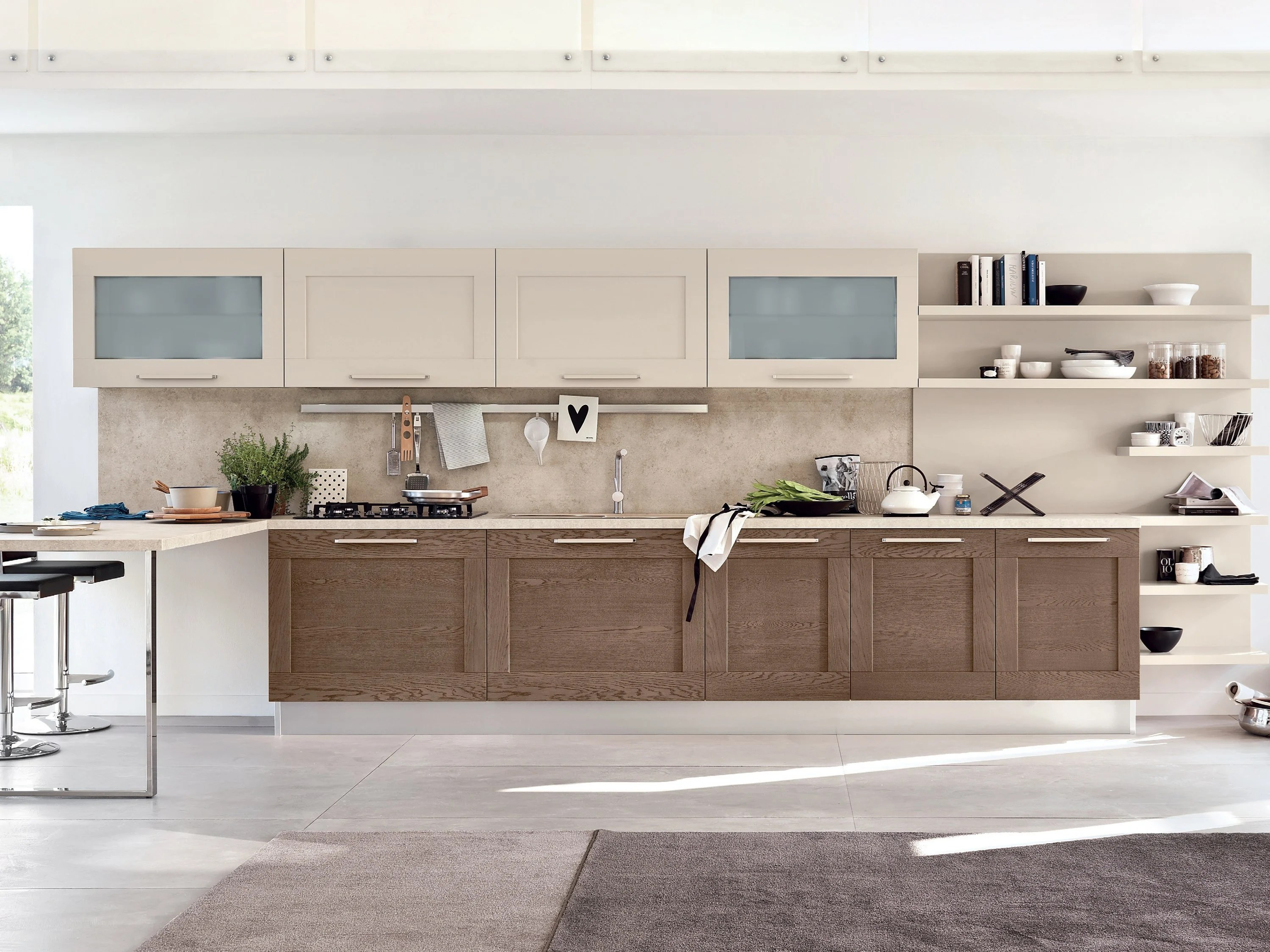 GALLERY Linear kitchen by Cucine Lube