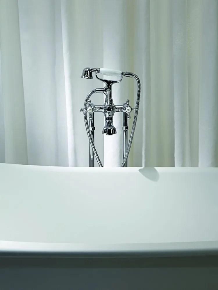 AGOR Floor standing bathtub tap by ZUCCHETTI design