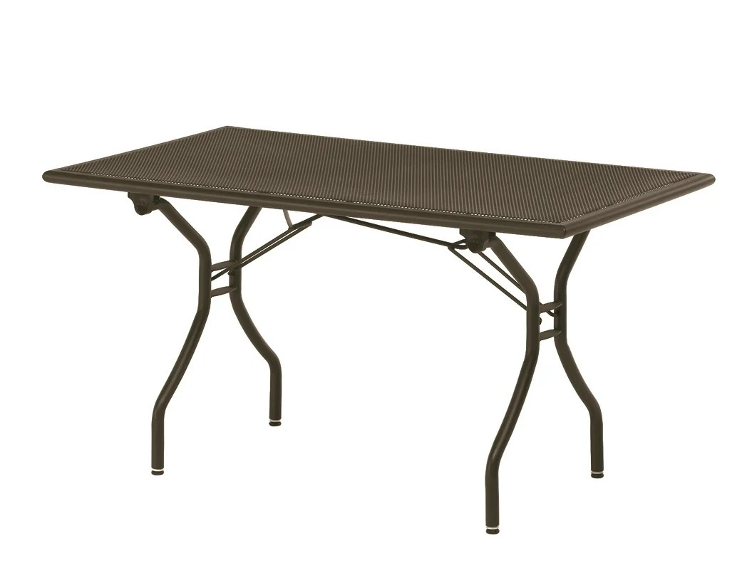 Table Haute Jardin Pliante Table De Jardin Pliante Rectangulaire Collection Cambi By