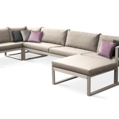 Steel Frame Sofa Gus Modern Sleeper Modular Lounge By Fueradentro Design Hendrik