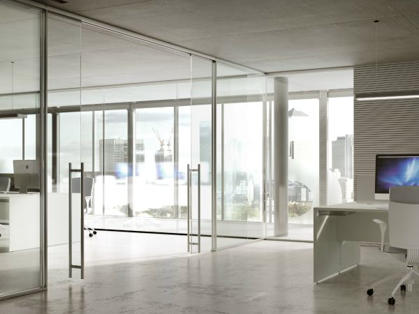Office Glass Partition Details - Year of Clean Water