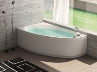 NOVA Corner bathtub by HAFRO