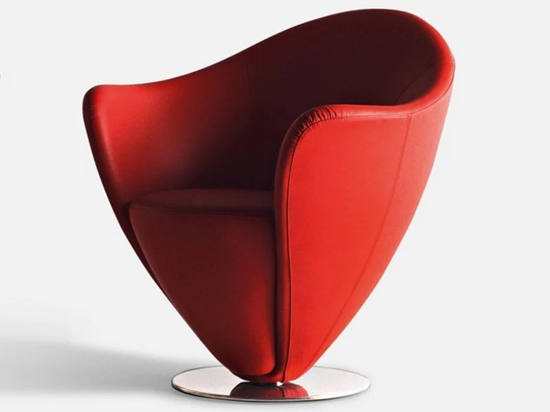 swivel chair dimensions leather and wood upholstered armchair mon petit coeur collection by la cividina | design ...