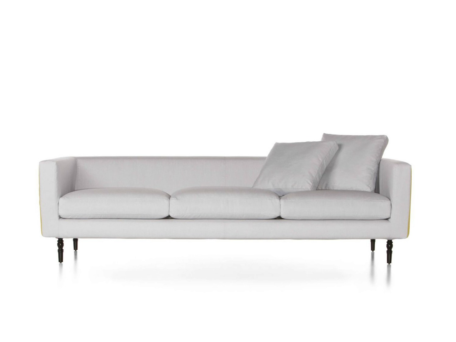 foam sofa design crate and barrel couch bed upholstered boutique kimono collection