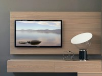 Wall-mounted TV cabinet RACK WIDE by Fimar