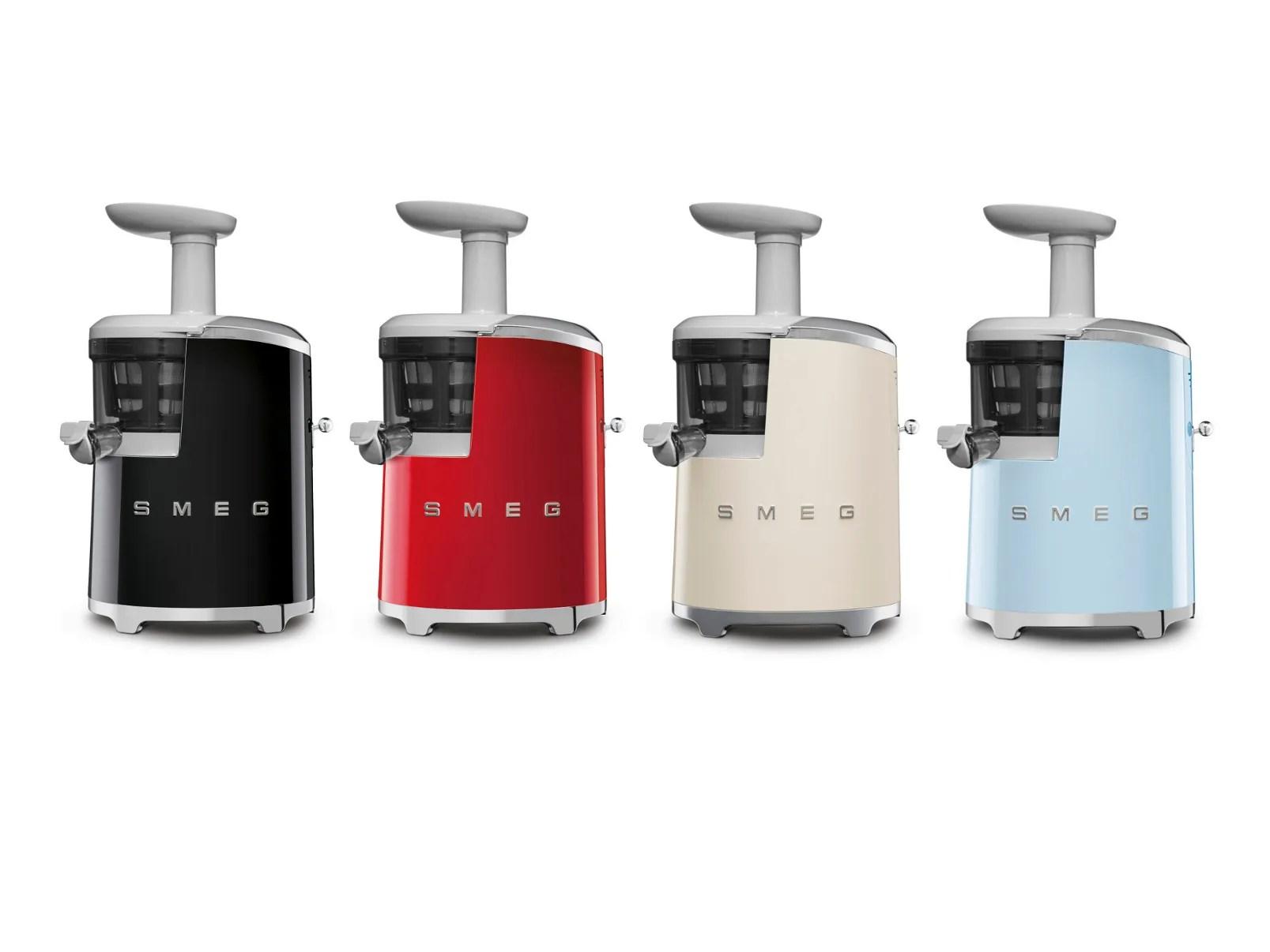 SJF01 Slow Juicer Smeg 50s Style Collection By Smeg