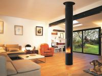 Gas central hanging fireplace SLIMFOCUS GAS Slimfocus ...