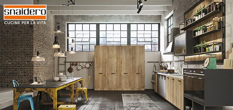 Cucina Loft di Snaidero identit metropolitana