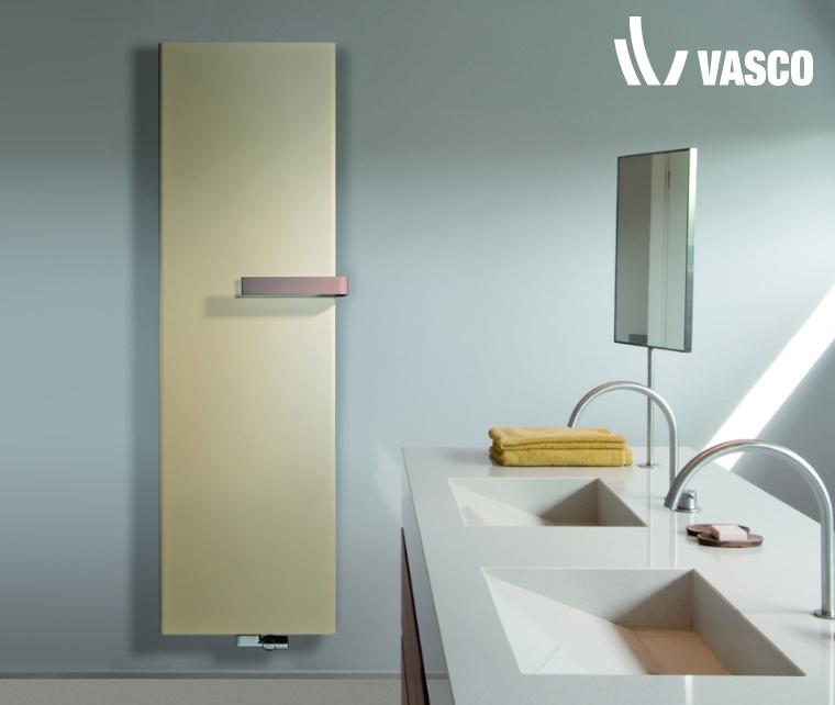Radiatori decorativi in acciaio NIVA by Vasco