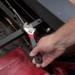 La Z Boy Lift Chair Parts Executive Staples How To Replace A Recliner Spring (with Pictures) | Ehow
