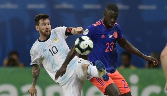Argentina vs. Colombia: resumen del primer tiempo. (Foto: AFP)