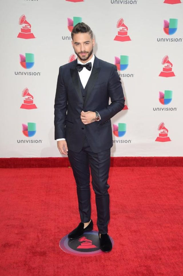 Maluma en los Latin Grammy