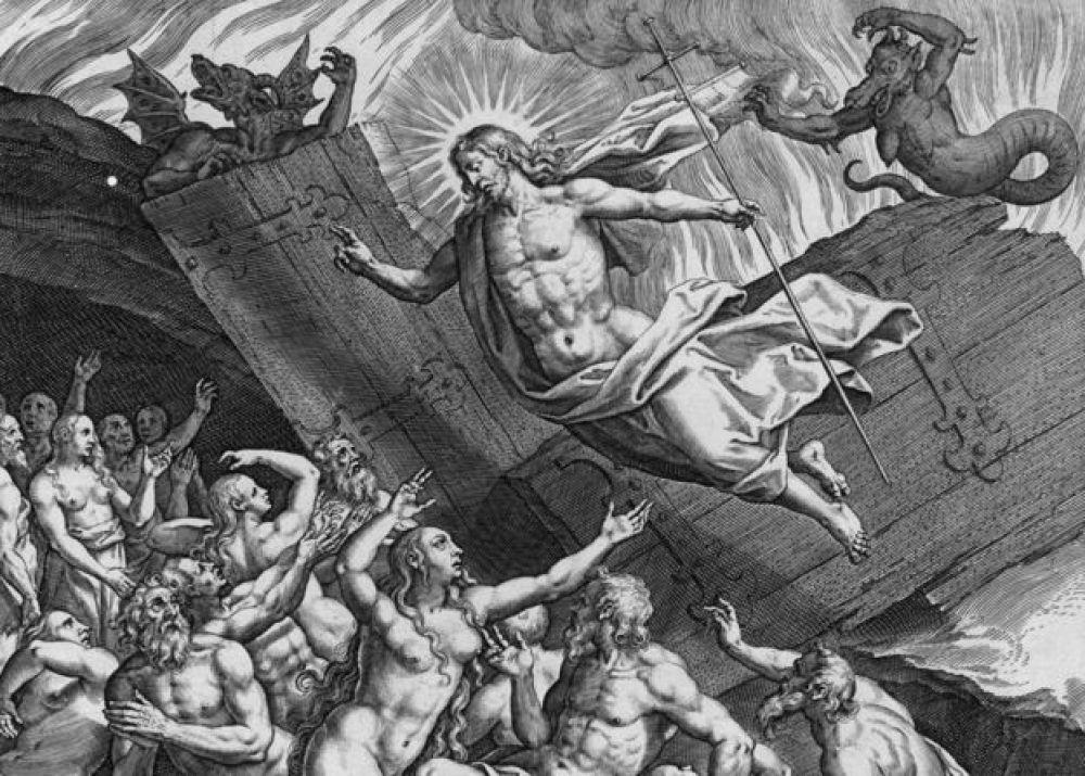 El infierno es fundamental para la iconografía cristiana, así como se ve en este grabado del siglo XVI.