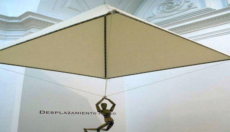 Paracaídas de Da Vinci. (Foto: Archivo)
