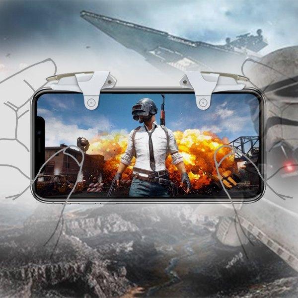 Gatillos Botones L1r1 Celular Andriod Star War Pubg Free Fire joystick control android y iOS apple iphone huawei samsung
