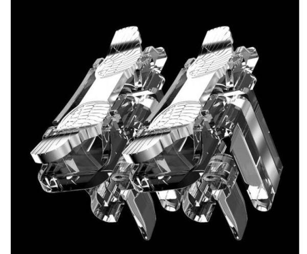 Gatillos Botones L1r1 Celular Android Pubg Metal FreefireAla De Angel