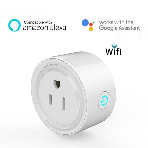 Smart Plug Wifi Contacto Inteligente App Led Socket Apagador