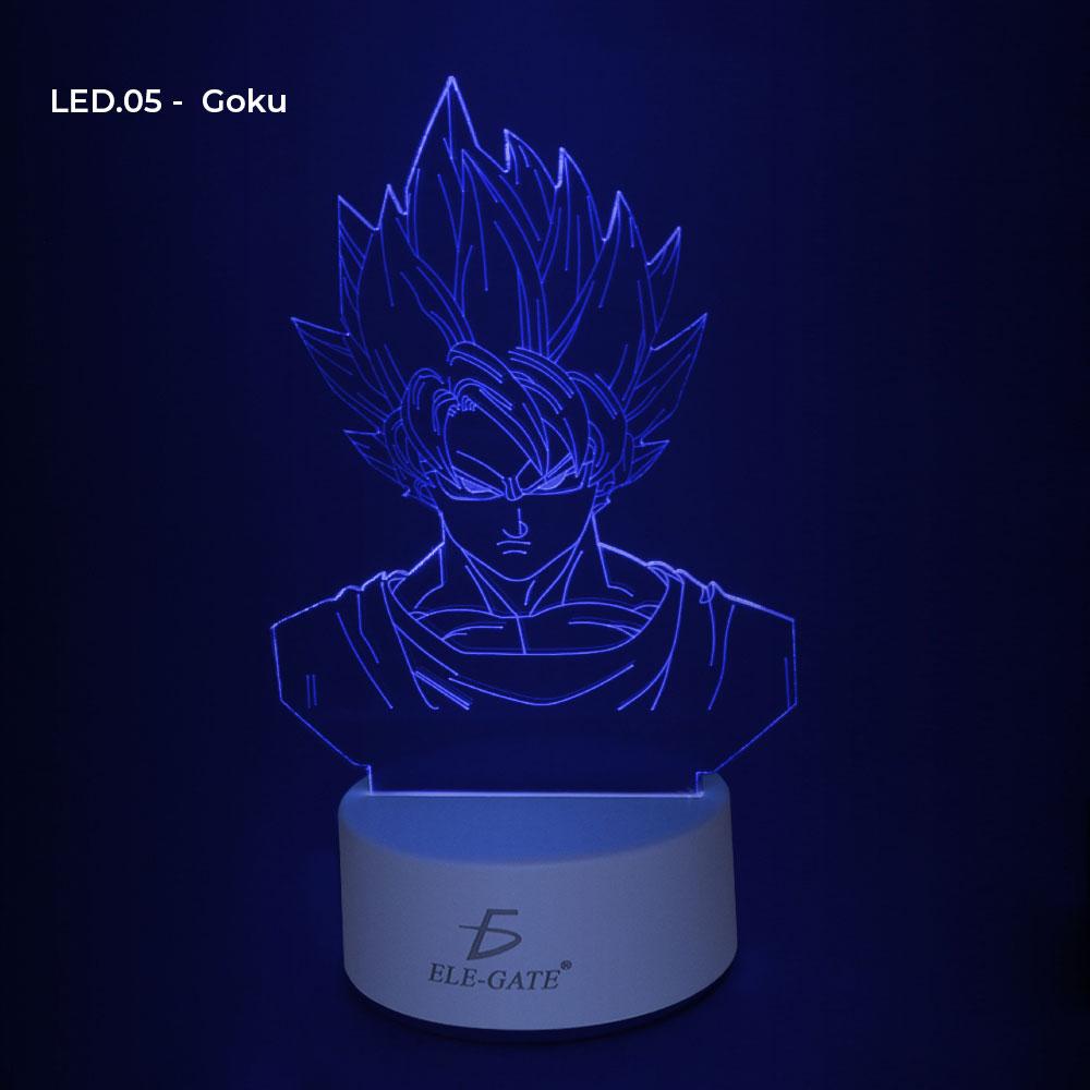 Lampara 3d Led