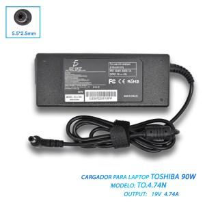 Cargador Laptop Toshiba 19v 4.74a 5.5*2.5mm Pa5035u