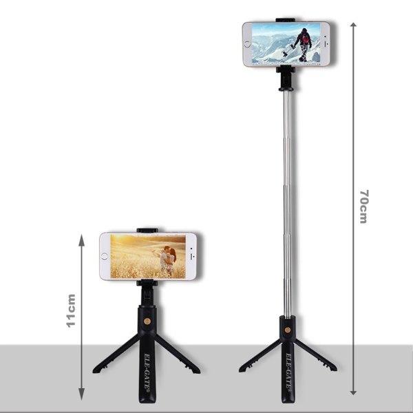 Baston Selfies Bluetooth Tripie Con Control Remoto Bluetooth 4.0