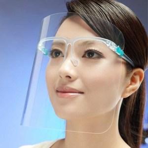 Mascarilla Careta Cubre Boca Ojos Nariz Protector Facial