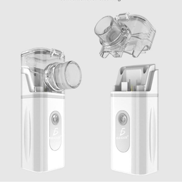 Nebulizador De Malla Portatil De Mano Ultrasonido Silencioso