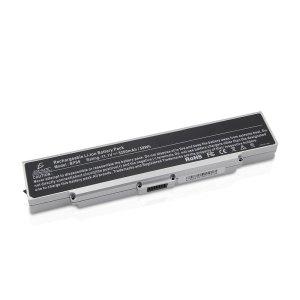 Bateria Laptop Compatible Para Vgp-bps9 Plata y Negra