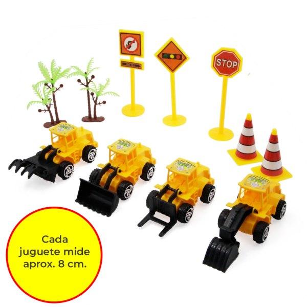 juguetes de Niños Set de vehículos de construcción