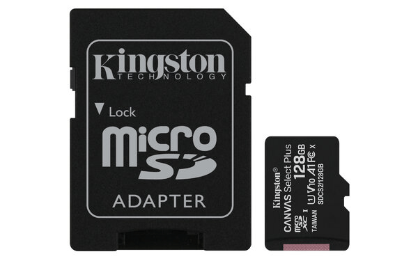 Trajeta de Memoria Kingston Micro SD 128GB Class 10