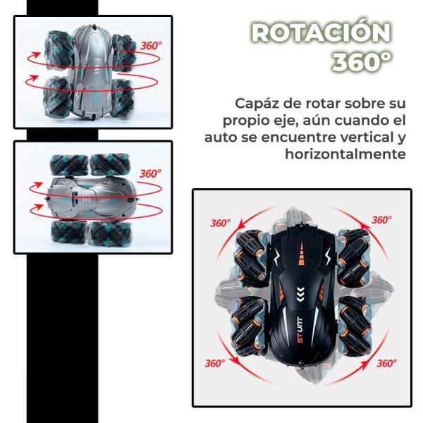 Carro Control Remoto Control De Gestos Sensor De Gravedad