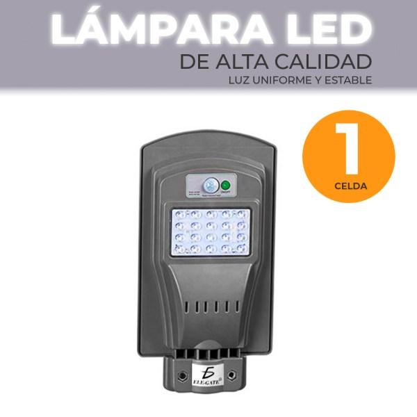 Lámpara Solar 20 Leds Sensor Movimiento Exterior