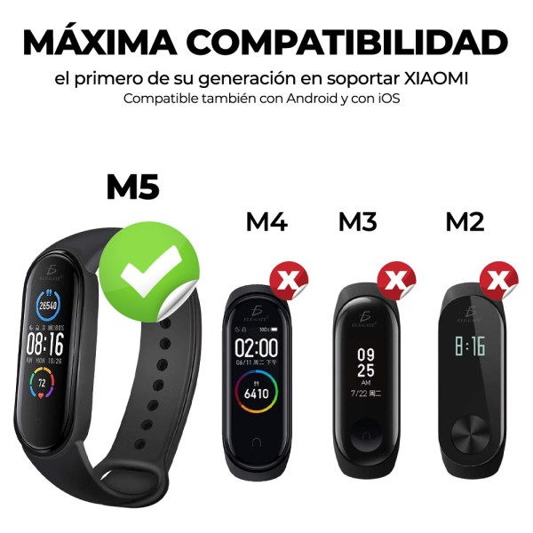 Smart Band M5 Pulsera Inteligente Sensor De Ritmo Cardíaco