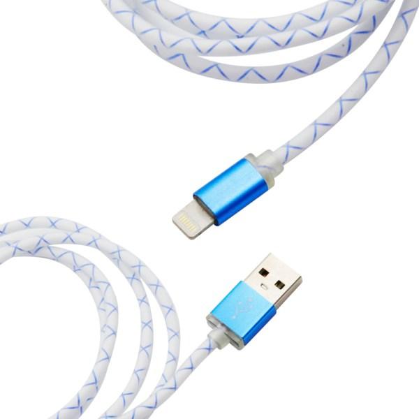 Cable Portátil Lightning Fluorescencia Usb 2.1A
