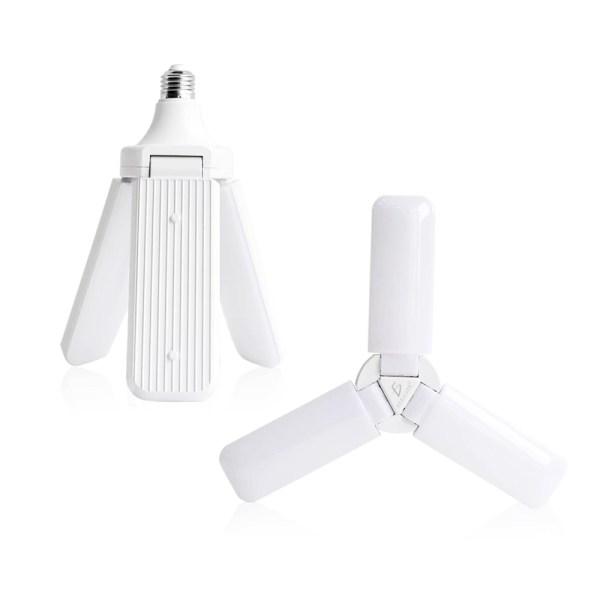 Foco Led 50w Tipo Ventilador Apertura Ajustable Luz Blanca
