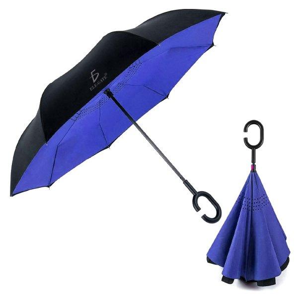 Paraguas Invertido Doble Refuerzo Resistente Ligero