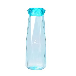 Vaso Tipo Cristal De 650 ML Resistente A Prueba de Fugas