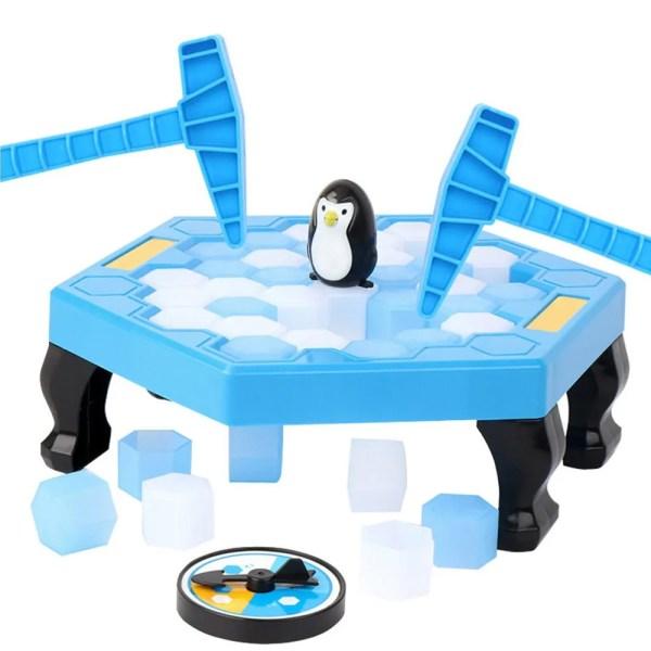 Guardar Pingüino Trampa Rompehielos Juego Bloques Juego Jueg
