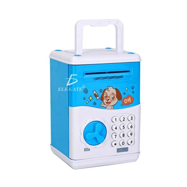 Alcancía Electronica Caja Seguridad Niños Atm Clave Caja