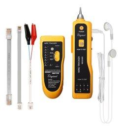 elegiant xq 350 line finder telephone phone rj45 rj11 wire tracker ethernet lan cable tester [ 1200 x 1200 Pixel ]