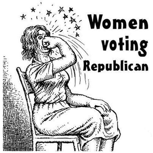 When You Vote For Romney, You Get a War on Women. {Funny