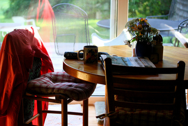 How a Kitchen Table Helped me through my Divorce
