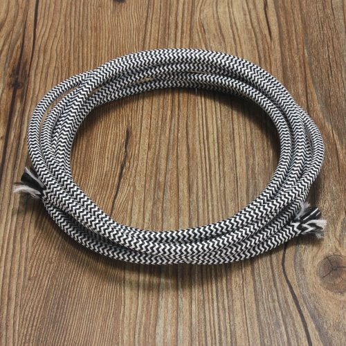 small resolution of vintage light cable elfeland 5m electrical wire 3 core rayon covered wire retro lighting