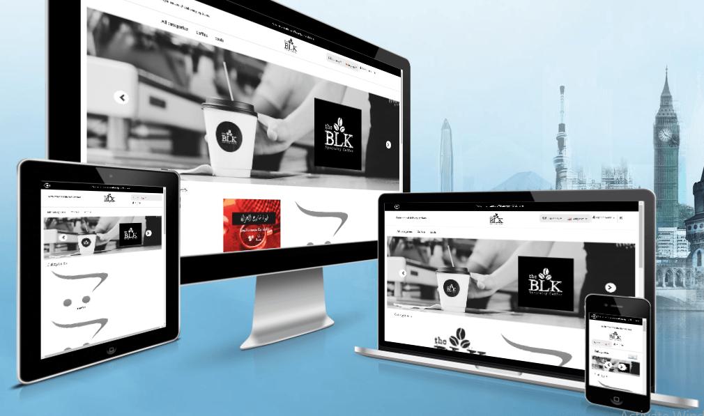 تصميم موقع متجر الكتروني احترافي مميز - تصميم تطبيق متاجر الكترونية ايفون اندرويد لاجهزة الجوال