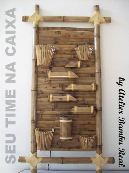 Fonte de gua de Parede em Bambu Moss 5 no Elo7  Seu