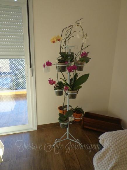 Suporte para Vasos de Orquideas  Elo7