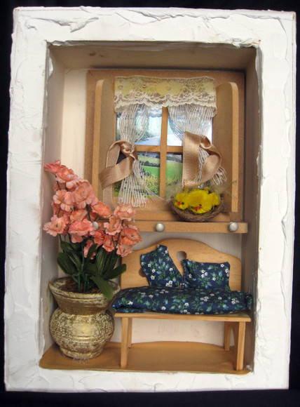 Quadro sala de estar no Elo7  Madame Vintage 1FA38C