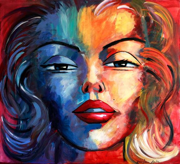 Quadro Marilyn Monroe no Elo7  Ana Martins Arte 44A24E