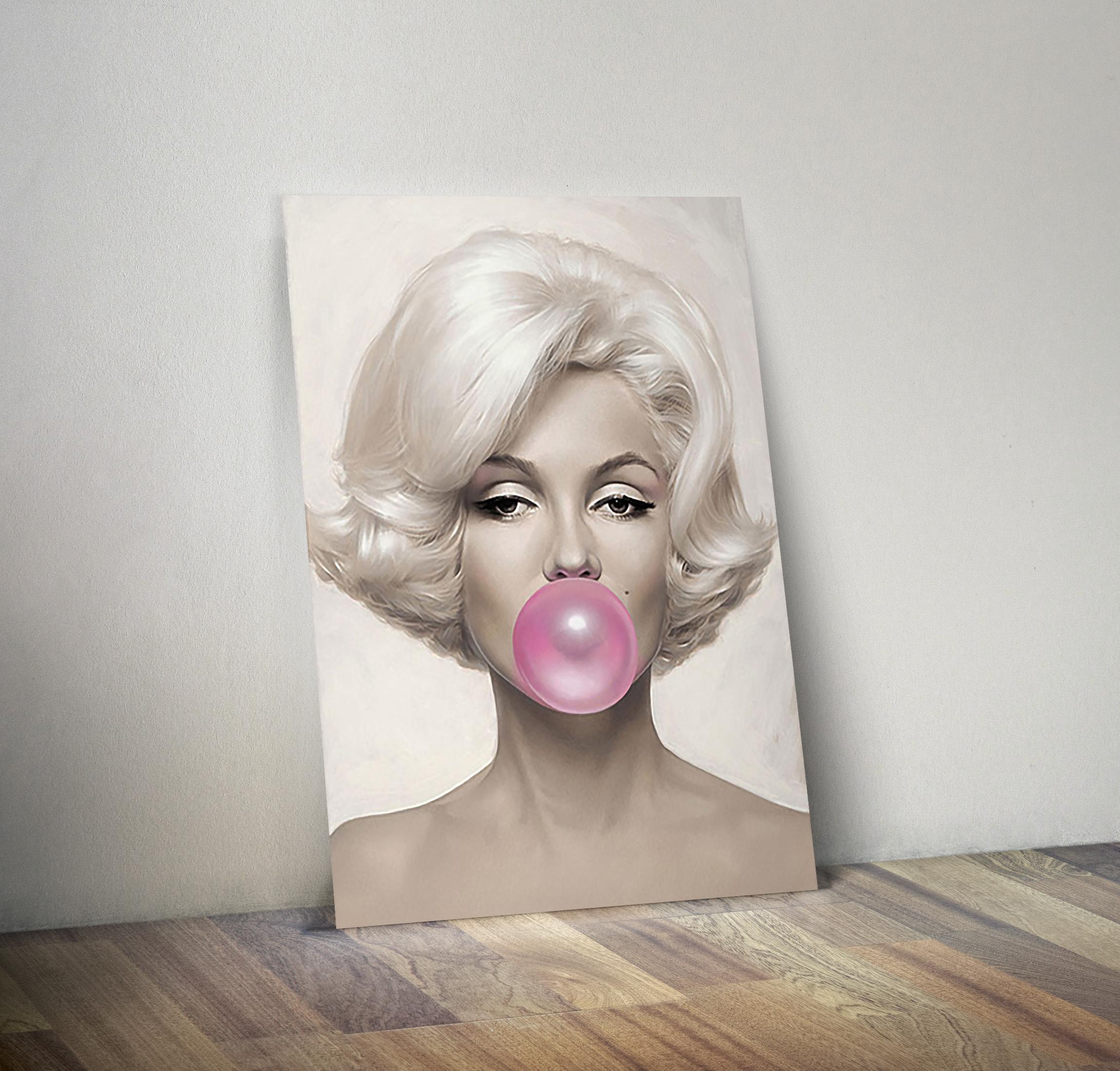 Quadro  Marilyn Monroe 30x20  QBacana Decor  Elo7