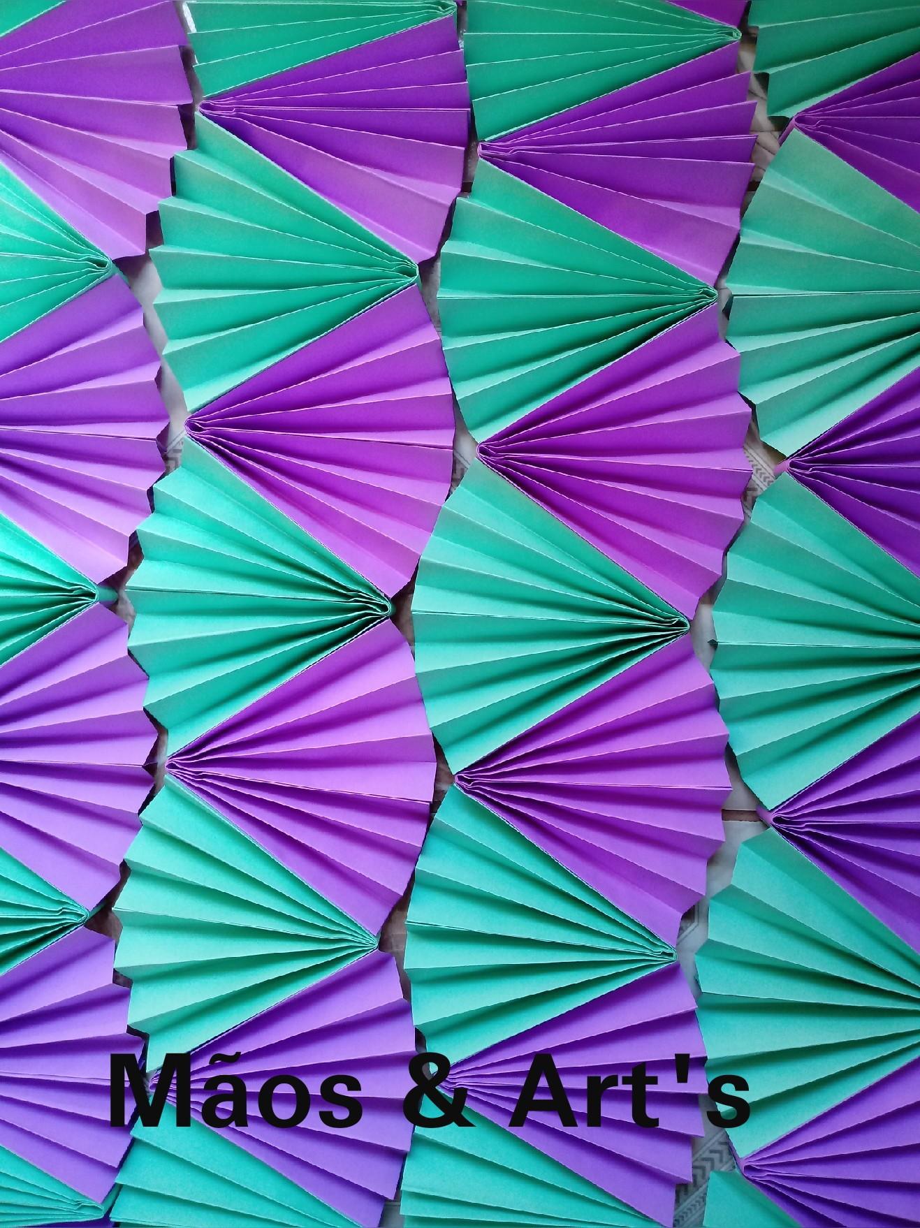 Modelos de cortinas de papel crepe