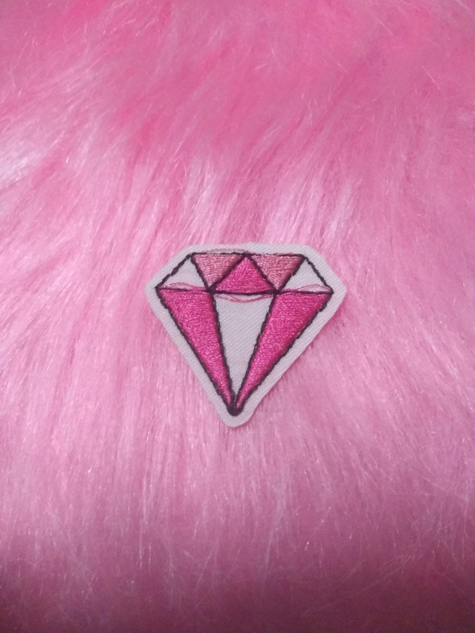 patch diamante rosa